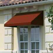 Awntech Window/entry Awning 10-3/8and039w X 2and039h X 4and039d Terra Cotta