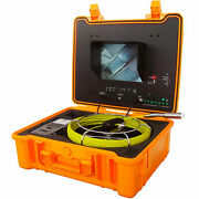 Forbest Luxury Color Sewer/drain Camera 130and039 Cable W/ Sonde Transmitter