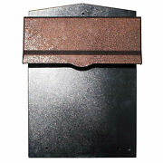 Qualarc Collection Mailbox W/chute Rear Access Wall Mount 11-1/2x14x16-1/2