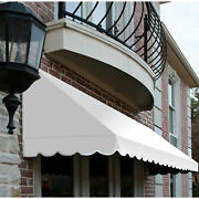 Awntech Window/entry Awning 10-3/8and039w X 4-11/16and039h X 4and039d Off White