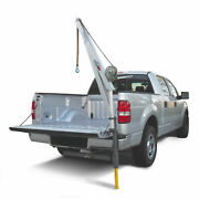 Spitzlift Lktrs-700 Pickup Truck Receiver Hitch Crane Package W/ 20and039 Strap