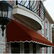 Awntech Window/entry Awning 10-3/8and039w X 4-11/16and039h X 4and039d Terra Cotta