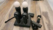 Sony Playstation Move Motion Cotrollers Camera Eye Ps3 Ps4 Bundle