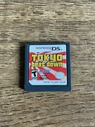 Tokyo Beat Down - Nintendo Ds 2008 Beatdown Atlus Cartridge Only Clean Authentic