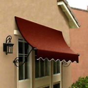 Awntech Window/entry Awning 8-3/8and039w X 4-11/16and039h X 3and039d Terra Cotta