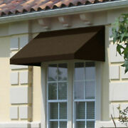 Awntech Window/entry Awning 10-3/8and039w X 2and039h X 4and039d Brown