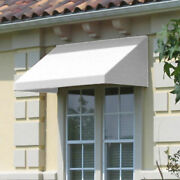 Awntech Window/entry Awning 10-3/8and039w X 2and039h X 4and039d Off White