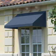 Awntech Window/entry Awning 10-3/8and039w X 2and039h X 4and039d Dusty Blue