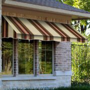 Awntech Window/entry Awning 10-3/8and039w X 4-11/16and039h X 4and039d Brown/terra Cotta