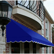 Awntech Window/entry Awning 8and039 4 -1/2w X 4and039d X 3and039 8h Bright Blue