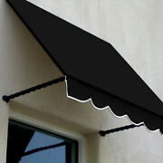 Awntech Window/entry Awning 8-3/8and039w X 3-11/16and039h X 3and039d Black
