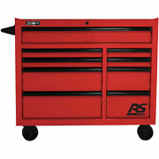 Homak Rd04004193 Rs Pro Series 9 Drawer Red Roller Tool Cabinet 41w X 24d X