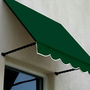 Awntech Window/entry Awning 8-3/8and039w X 3-11/16and039h X 3and039d Forest Green