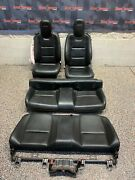 2010 Chevrolet Camaro Ss Oem Coupe Black Leather Front Rear Seats -blown Bag-