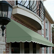 Awntech Window/entry Awning 8and039 4 -1/2w X 4and039d X 3and039 8h Sage