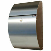 Mailbox Wall Mount Allux 7000 In Black/stainless