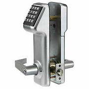 Electronic Combination Access Cylindrical Lock Interchangeable Core 160 Codes