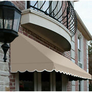 Awntech Window/entry Awning 10-3/8and039w X 4-11/16and039h X 4and039d Linen