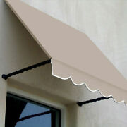 Awntech Window/entry Awning 8-3/8and039w X 3-11/16and039h X 3and039d Linen