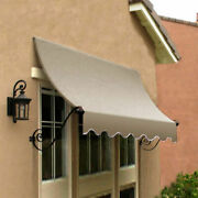 Awntech Window/entry Awning 8-3/8and039w X 4-11/16and039h X 3and039d Linen