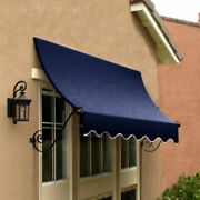 Awntech Window/entry Awning 8-3/8and039w X 4-11/16and039h X 3and039d Navy