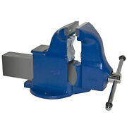 6 Heavy Duty Combination Pipe And Bench Vise - Stationary Base