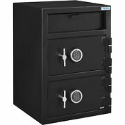 B-rate Depository Safe Front Loading, Digital Lock, Two Doors, 20w X 20d X