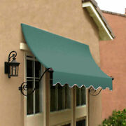 Awntech Window/entry Awning 8-3/8and039w X 4-11/16and039h X 3and039d Sage