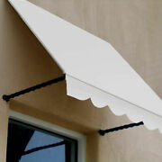 Awntech Window/entry Awning 8-3/8and039w X 3-11/16and039h X 3and039d Off White