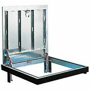 Bilco Drainage Channel Frame Double Leaf 316 Stainless Steel Hardware