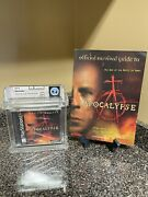 Apocalypse Sony Playstation 1 1998 Ps1 Wata 9.6 A+ Sealed With Strategy Guide