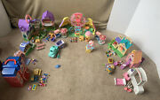 Huge Lot Fisher Price Sweet Streets Loving Family People Accessories County Fair