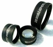 Set Of Three Free Shipping Non Contact Aspheric Slit Lamp Lens 20d 90d And 78d