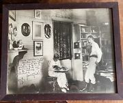 Picture Of Robert Louis Stevenson Signed By His Step-daughter Isobel Field