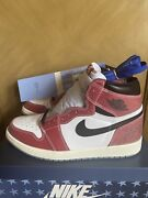 Jordan 1 Retro High Trophy Room Chicago Size 12 Friends And Family W/ Blue Laces