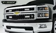T-rex Grilles 6311211 Torch Series Led Light Grille Fits 14-15 Silverado 1500