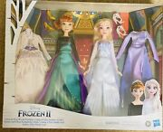 Disneyand039s Frozen 2 Anna And Elsa Royal Fashion Dolls Clothes And Accessories New