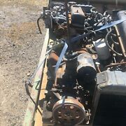Jeep Mutt M151 Engine Core With Transmission And Radiator Used