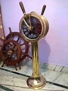 Shipand039s Telegraph Brass Engine Order Antique Maritime Collectible Decorative 43