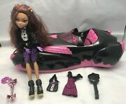 Monster High 2011 Clawdeen Wolf Doll Roadster Car Ultimate Sweet 1600th Birthday