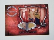 Buffy Connections Pwc3 Pieceworks Costume Card Alyson Hannigan Amber Benson 6