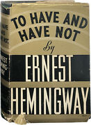 Ernest Hemingway / To Have And Have Not 1937