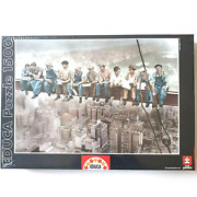 Educa Breakfast In New York 1500 Pieces Jigsaw Puzzle 85 X 60 Cm Factory Sealed