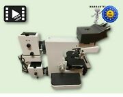 Leitz Metalloplan Microscope With Three Objectives 60 Days Warranty See Video
