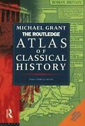 Routledge Atlas Of Classical History From 1700 B. C. To A. D. 565 Paperback
