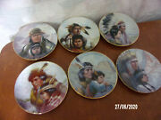 6- Perillo America's Heritage Collector Plates From Vogue Shadows