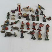 Antique And Vintage Lead /metal Toy Figures Soldiers Queen And More
