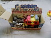 Ideal Stage Coach An Horses 5 Inch 1963 Near Mint