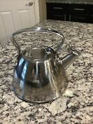 All-clad Stainless Steel Tea Kettle 2-quart Preowned