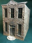 O/on3/on30 Scale - The Old Ioof Hall By Rich White Models-hydrocal Walls Only